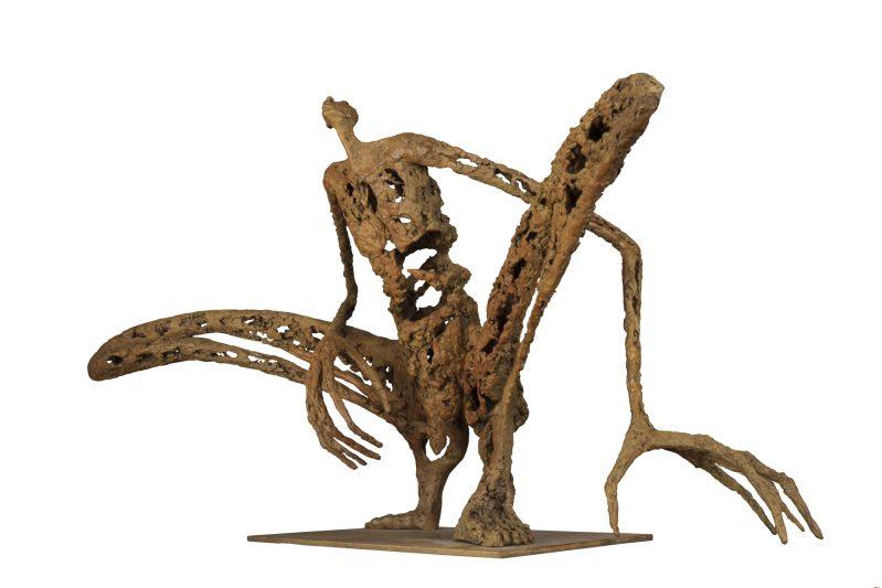 L'homme sauterelle - H. 36 cm