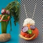 Résultats du concours de personnages en légumes