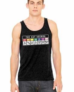 The Gay Agenda Unisex Tank