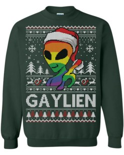 Gaylien Funny Ugly Christmas Sweater