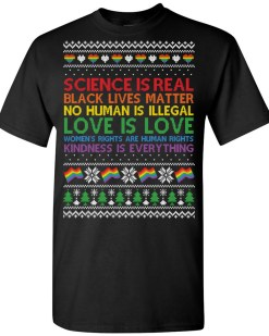 Science Is Real Christmas T-Shirt