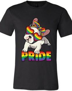 Pug Pride LGBTQ+ Canvas Unisex T-Shirt