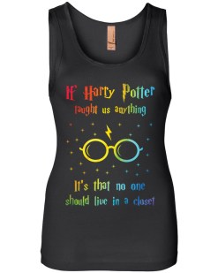 If Harry Taught Us Anything Womens Jersey Tank