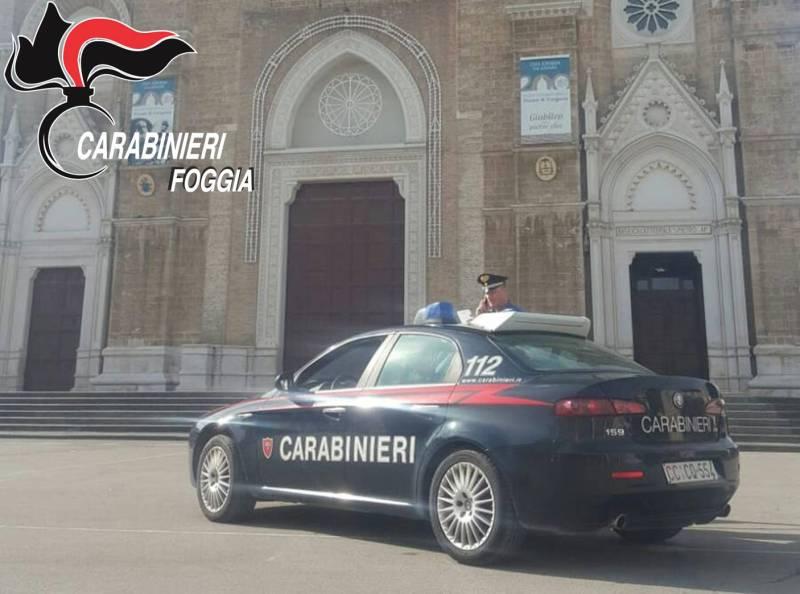 Raffica di controlli dei carabinieri: arresti a Cerignola