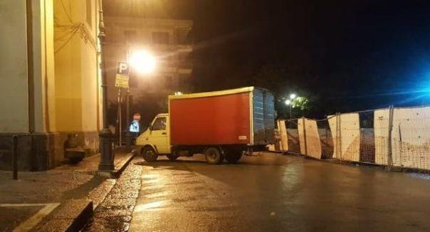 Marchiodoc - Assalto camion