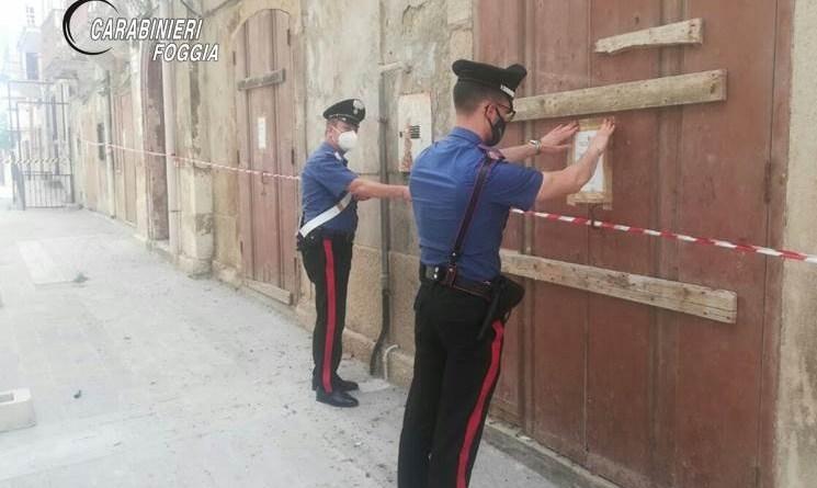 Marchiodoc-Margherita di Savoia Sequestro Palazzo