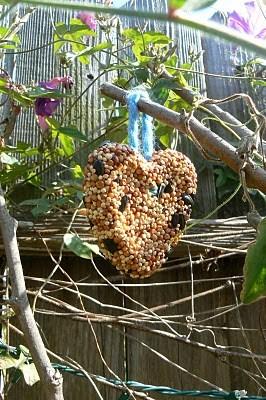 Birdies, Bird House, & The Garden Lady
