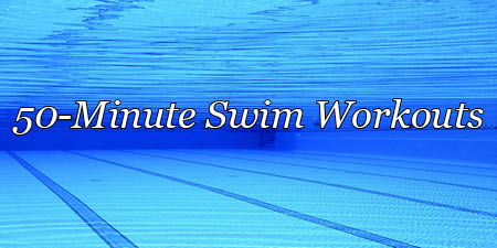 50-minute swim workout, stroke technique emphasis