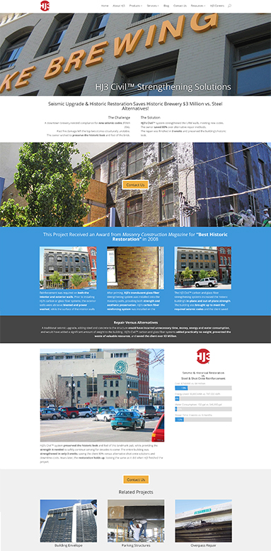 web-design-wp-development-historic-retrofit-project