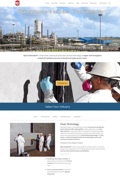 web-design-wp-development-industrial