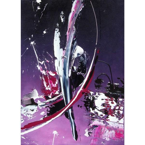 VERKOCHT! 'Purple Haze', 50 x 70 cm