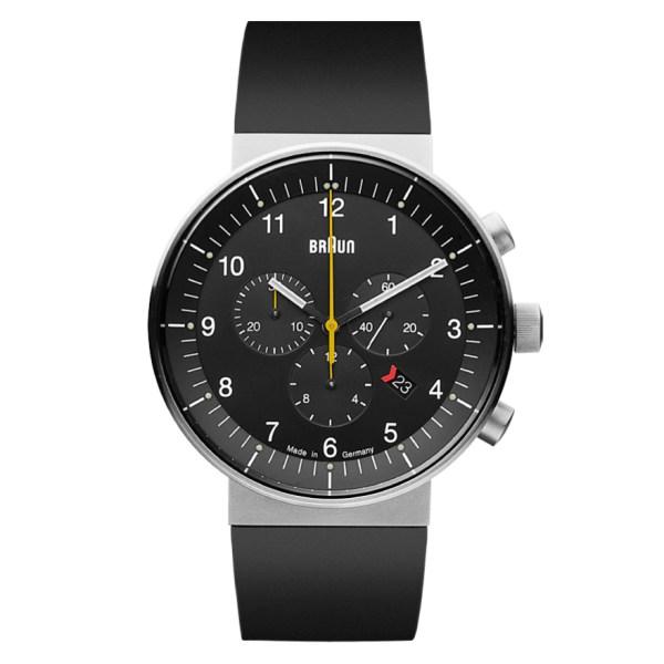 Prestige Watch analoog, staal met rubberen band