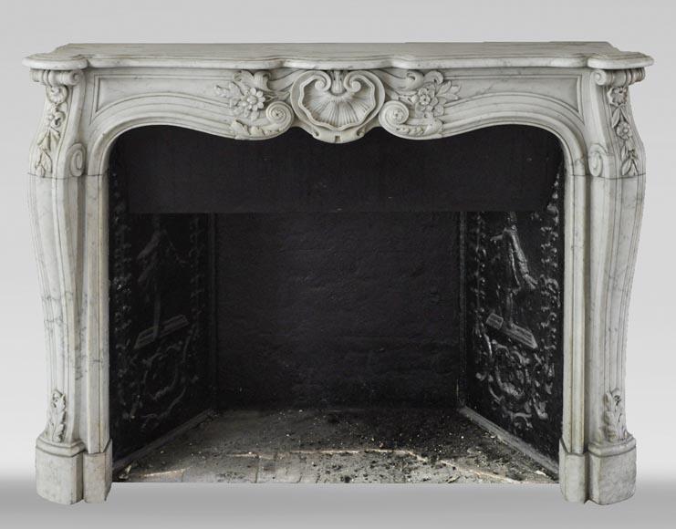 cheminee ancienne de style louis xv en