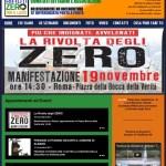 Presidio al Consiglio Regionale del Lazio. La Rivolta degli Zero continua.