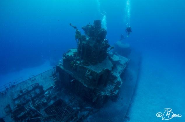 Russian destroyer - Cayman Brac