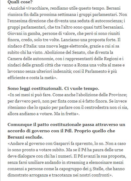 Renzi Corriere
