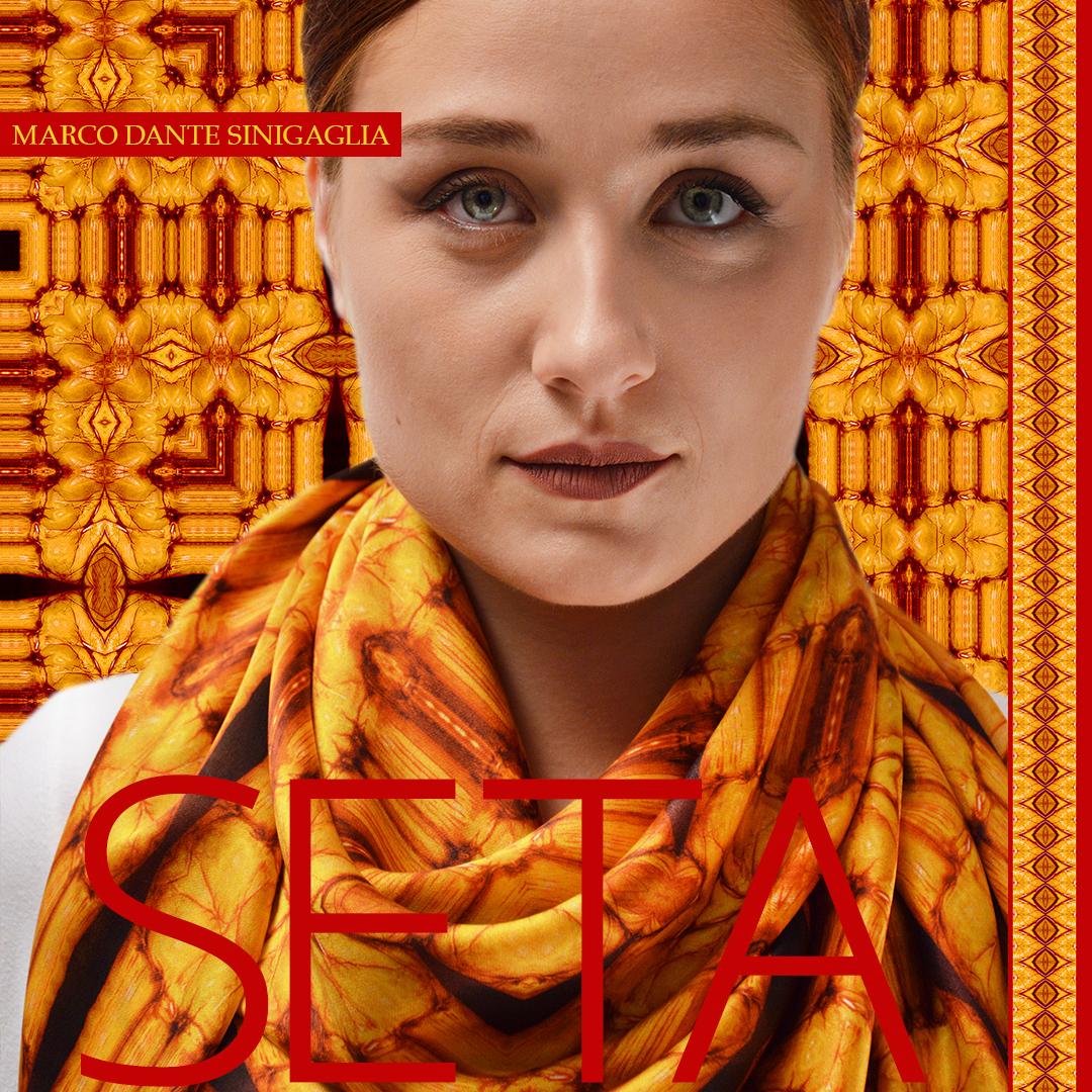 ana with a foulard marco dante sinigaglia