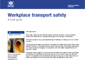 Workplace Transport Safety