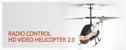 Radio Control HD Video Helicopter 2.0