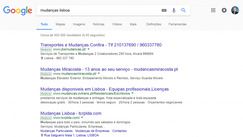 Novas Labels Google Adwords