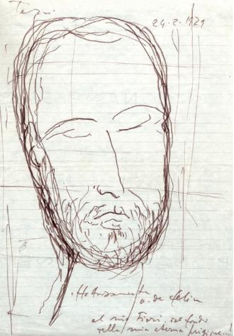 De Felice, Autoritratto