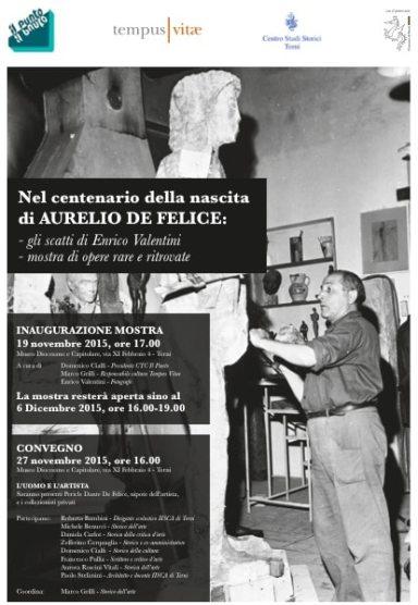 Mostra Aurelio De Felice