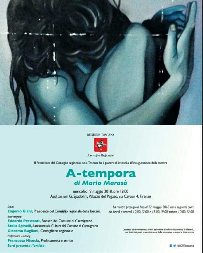 A-Tempora – Personale di Mario Marasà