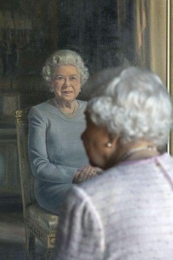 Stuart Brown, Queen Elizabeth II, 2018