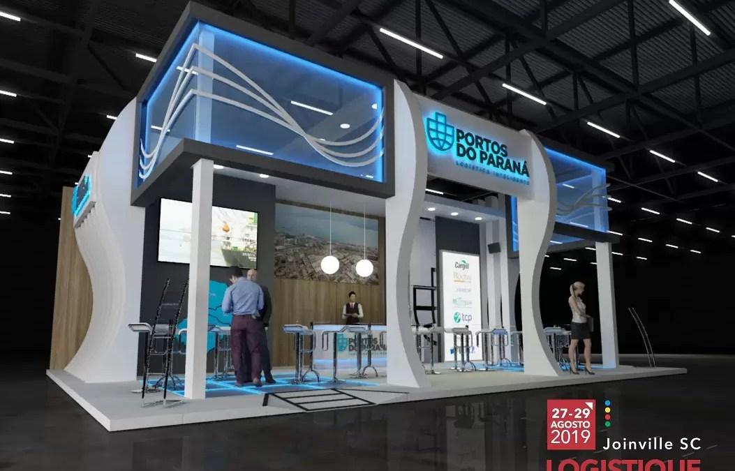 Portos do Paraná apresenta diferenciais em feira de logística