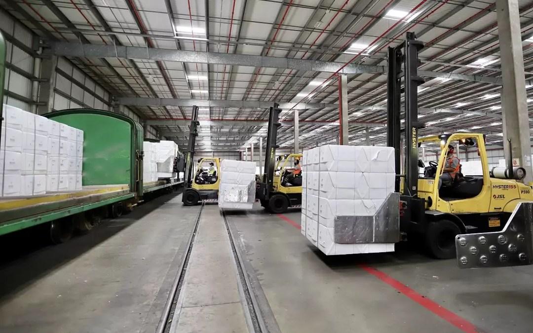 Transporte ferroviário de celulose para o Porto de Paranaguá cresce 26%