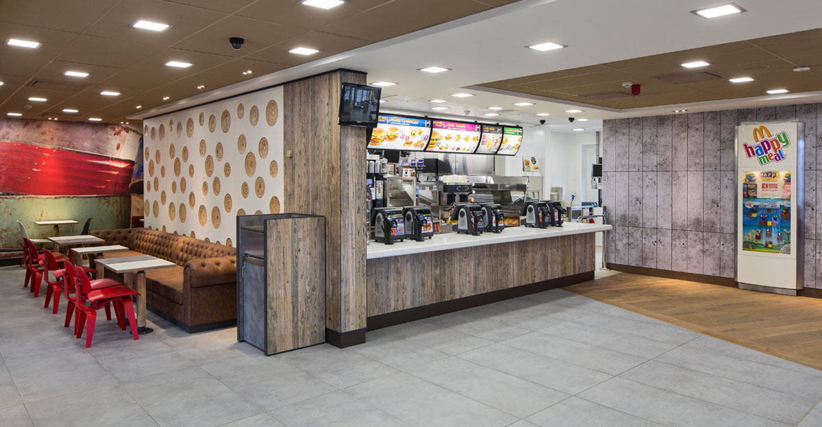 Marcon Fit Out McDonalds Makeover In Clifton Moor York