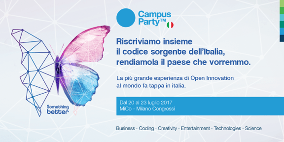Cambiamo il mondo? Arriva Campus Party!