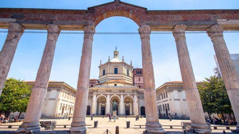 Milano da scoprire: le Colonne di San Lorenzo