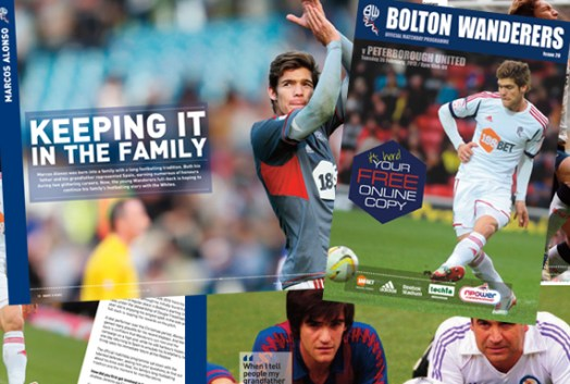 Marcos Alonso in programme