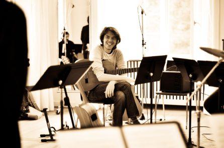 CheRoba & il Fiato delle Alpi, first rehearsals at Musikinsel Rheinau
