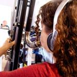 Filipa Nunes, contrabass clarinet