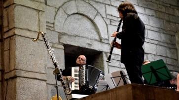 Ivan Tibolla. Marco Santilli CheRoba & il Fiato delle Alpi. Photo credit: Marco Scesa