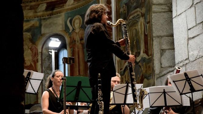 Marco Santilli CheRoba & il Fiato delle Alpi. Photo credit: Marco Scesa