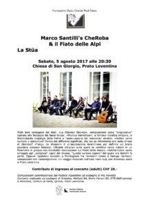 La Stüa Concert in Prato Leventina