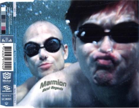 """Das CD-Cover von """"Best Regard"""" von Marmions"""