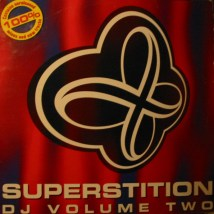 Das Cover des Doppel-Albums Superstition DJ Volume 2