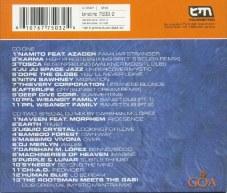 """Die Rückseite der Doppel-CD """"Goa Berlin 2001"""""""