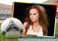Marco para fotos de fútbol: Eurocopa 2012