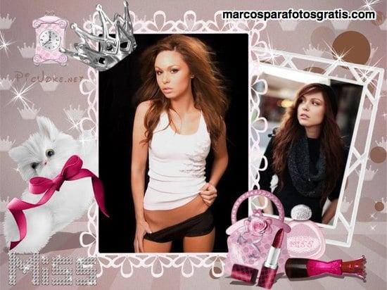 marcos de fotos para mujeres