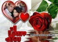 Marco de fotos para regalar en San Valentín