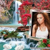 Colocar una foto en un marco de cascada