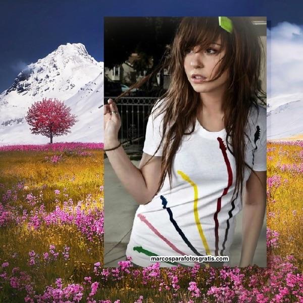 marcos de fotos paisaje