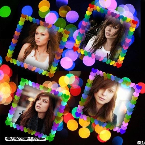 marco de color fotos