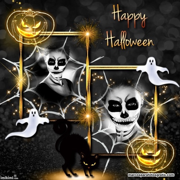 mejores marcos de halloween para fotos