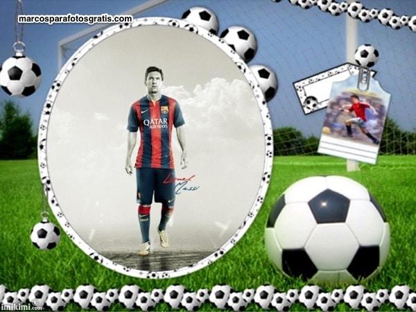 Marco De Balon De Futbol Marcos Para Fotos Online